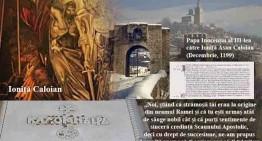 Papa Inocențiu al III-lea către Ioniță Asan Caloian (Decembrie, 1199) …recunoscut cu descendență latină