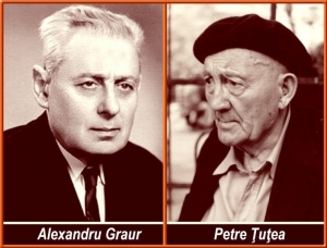 AlexandruGraur & Petre Țuțea