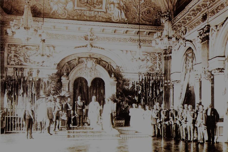 Sala Tronului Romaniei 1906