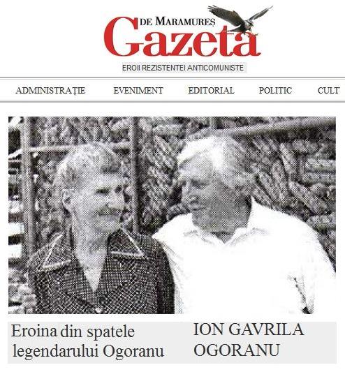 Eroii Rezistentei Anticomuniste - Ana si Ion Gavrila Ogoranu