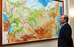Putin evaluându-și imperiul