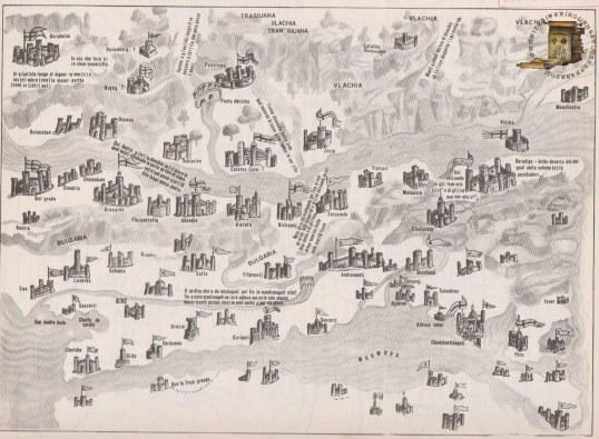 Transcrierea hărții