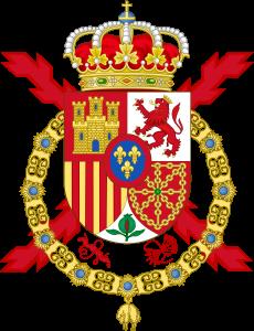 Dacians simbol in Coat of Arms of Spanish Monarch