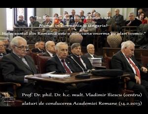 Profesorul-Univ-Dr-Vladimir-Iliescu-in-plenul-Academiei-Romane-vorbind despre holocaust 14_02_2013