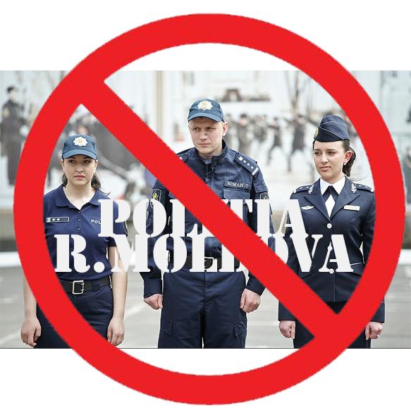 Uniforma Poliției Republicii Moldova INTERZISA la Bender și în satele limitrofe Gâsca și Protiagailovka