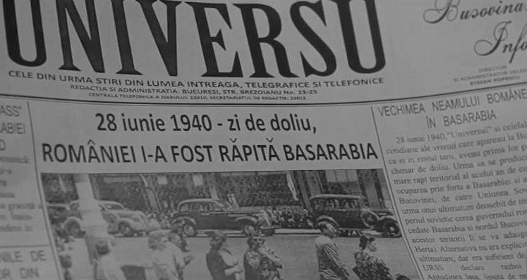 """Video: 28 iunie – o dramă națională. Basarabia, sacrificată pe """"tărâmul morții"""" / Curierul Românesc cu Mihai Nicolae"""