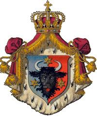 Stema Ducatului Bucovinei aflata in componenta Imperiului Austro Ungar -1849
