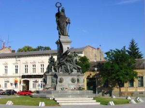 Arad, Monumentul rușinii la Arad - 13 generali ai armatei ungare, sursa foto: informatorul.md