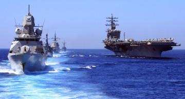 Video: Manevrele militare NATO în Marea Neagră sub ochii rușilor care au spionat din aer și de pe apă