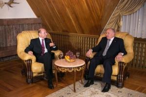 Timofti si Basescu