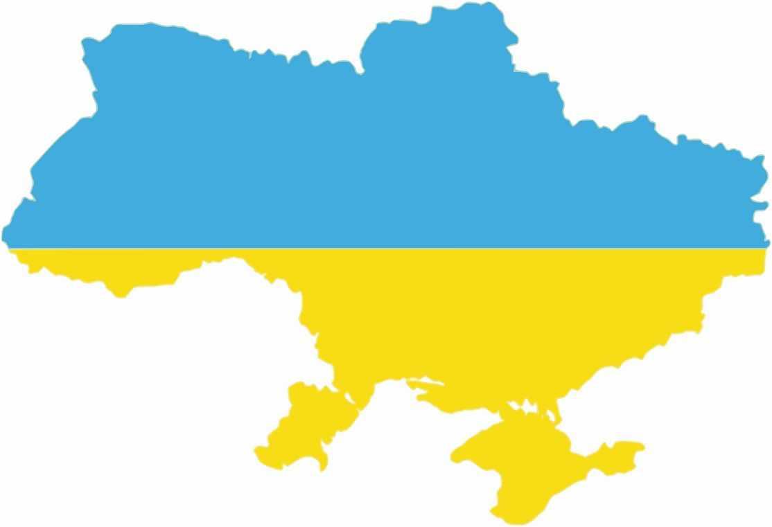 Ucraina-harta-steag