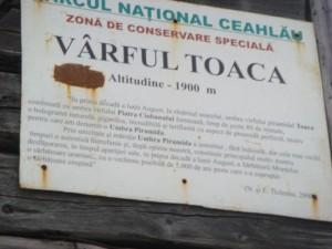 Varful Toaca
