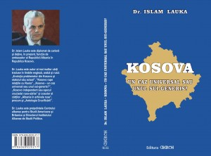 "Coperta cărții ""KOSOVA"""