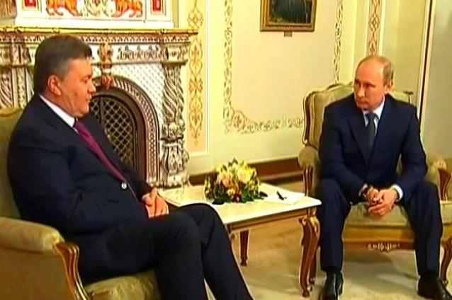 Ianukovici si Putin