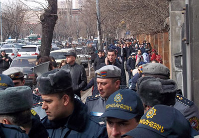 Revolte in Armenia (2)