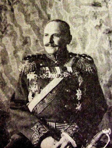 General-locotenentul Aleksandr Aleksandrovici Mosolov, cel care a semnat Procesele verbale de preluare a Tezaurului României