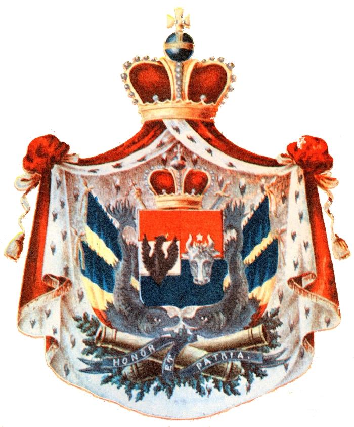Stema Principatelor Unite 1859