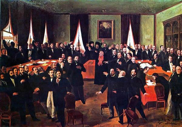 Theodor Aman Proclamarea Unirii