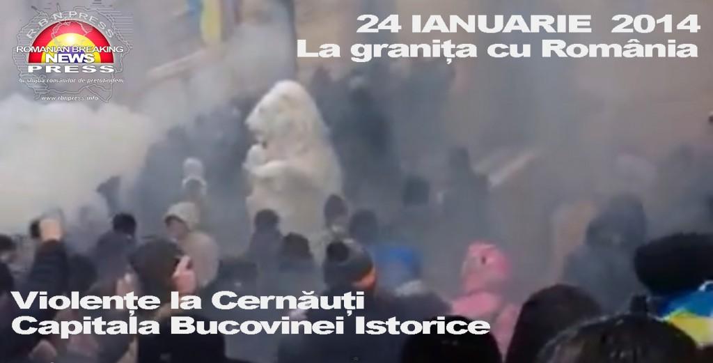 Violente la Cernauti