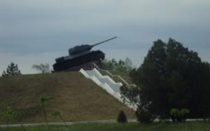 Tanc monument in Transnistria
