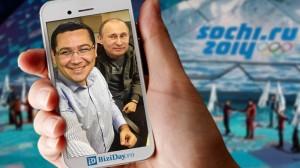 Ponta cu Putin la Soci, foto: www.biziDay.ro