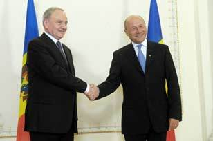 Presedintele Timofti si Presedintele Basescu