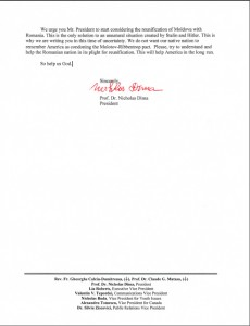 Nicholas Dima to Obama _2