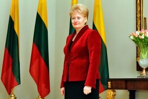 Președintele Lituaniei Dalia Grybauskaite