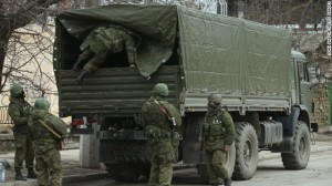 <> on March 1, 2014 in Simferopol, Ukraine.