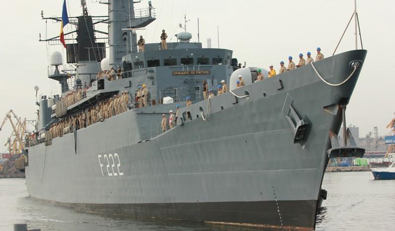 """Fregata """"Regele Ferdinand"""" preia comanda grupării navale NATO din Marea Neagră formată din forțele navale ale României, Bulgariei și Turciei"""