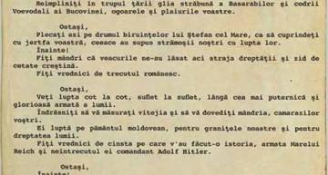 """22 IUNIE 1941: """"OSTAȘI, Vă ordon: Treceți Prutul!"""" – Mareșalul Ion Antonescu avea să plătească cu viața această îndrăzneală de a veni de hac vrăjmașului, bolșevic anti-creștin și invadator"""