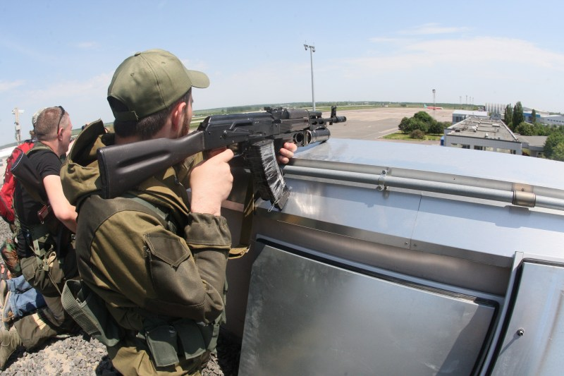 UKRAINE-RUSSIA-POLITICS-CRISIS-DONETSK-AIRPORT
