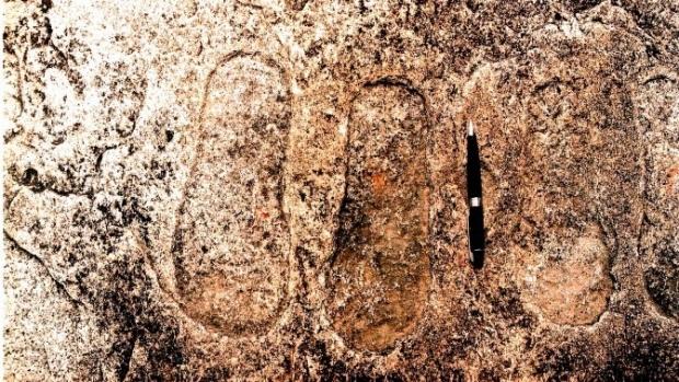 Cele mai vechi urme de pași din lume (36.500 de ani), se află în România, în peștera Ciur Izbuc din Munții Apuseni