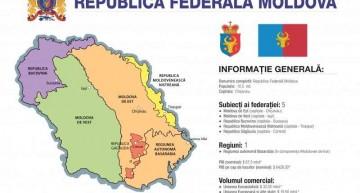 """SEMNAL! Conceptul """"Moldova Federală"""", o nouă urzeală menită a destrăma România"""