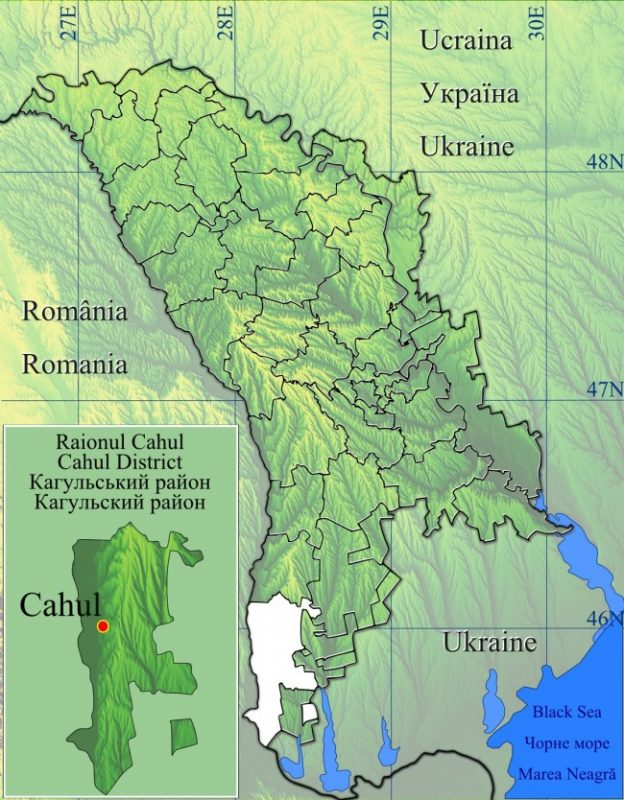 Raionul_Cahul_location_map