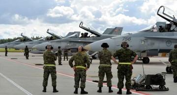 Video de excepție: Cum se face o interceptare aeriană de către forțele aeriene NATO? Fazele interceptării pas cu pas