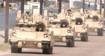 Video:SUA trimit tancuri și militari în Europa de Est (pentru exerciții)