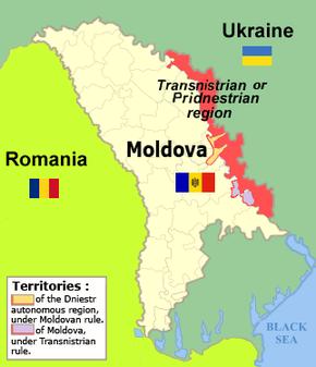 Chișinău. Premierul Ponta: Transnistria e parte a Moldovei!