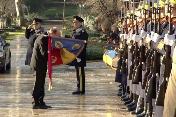 Președintele României – Ceremonia de investire și predare-primire a mandatului