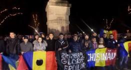 Sublim gest al românilor basarabeni din Chișinau! Omagiu adus celor care s-au jertfit în Decembrie '89 pentru libertatea României