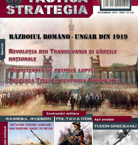 """Pagini interzise o vreme și apoi uitate din istoria noastră, …în numarul 2 al revistei """"Tactica si Strategia"""""""