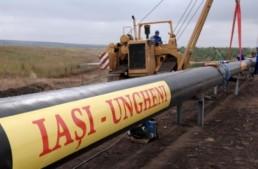 Termenul stabilit pentru darea în exploatare a conductei de gaz Ungheni-Chișinău nu va fi respectat.