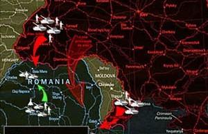 """Rusii se gândeau înca din 2012 la scenarii de razboi, doar ca atunci, """"gândeau"""" un război între România și Ucraina"""