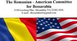 Comitetul Româno – American pentru Basarabia îi scrie președintelui Iohannis