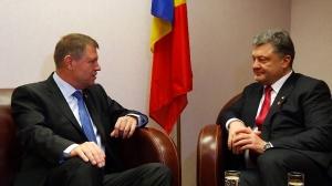 Întâlnire Iohannis – Poroșenko, la Bruxelles