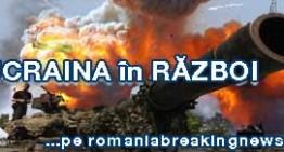 Forțele aeriene ucrainene au dat o grea lovitură insurgenților proruși. Operațiunile aeriene continuă