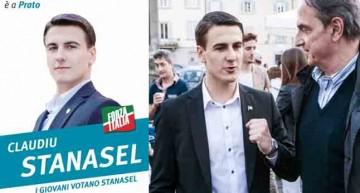 Claudiu Stănășel, un tânăr român de numai 20 de ani, om politic în Italia, un model pentru tinerii italieni și români