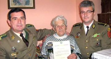 Să ne cinstim eroii în viață!  Constantin Herțoiu, veteran al celui de-Al Doilea Război Mondial, a împlinit 101 ani!