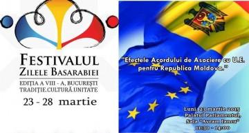 """Sub auspiciile """"Zilele Basarabiei la București"""", OSB organizează la Parlamentul României, conferință despre  efectele Acordului de Asociere cu UE pentru R. Moldova"""