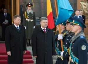 Intalnirea de la Kiev Porosenko Iohannis